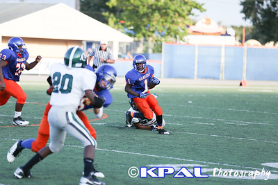 Evans - Freshman/JV Game 2013