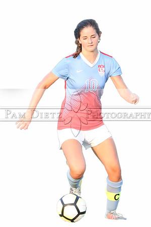 USJ girls soccer v Dyersburg 9-4-18