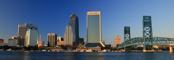 10/13/2007 - Downtown Jacksonville at Sunset
