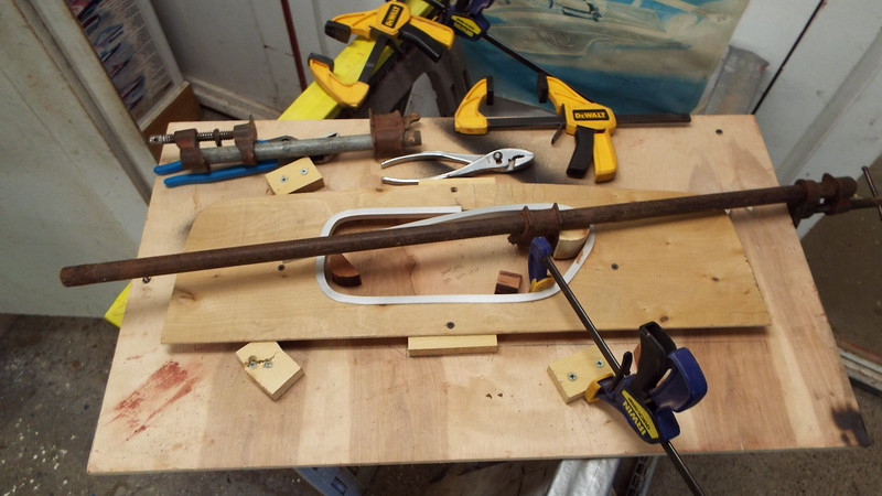 Jig to make the liner storage trim.