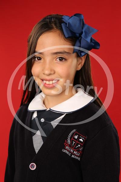5th Grade Maloney Rolling Hills Catholic School Portraits (2016-17)