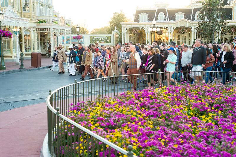 Rope Drop Merge - Magic Kingdom Walt Disney World