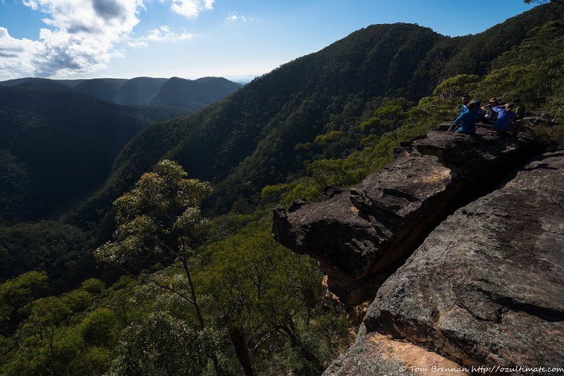 Morning tea above the Grose