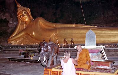 Thailand Pang Nga land and bay excursion January 1992