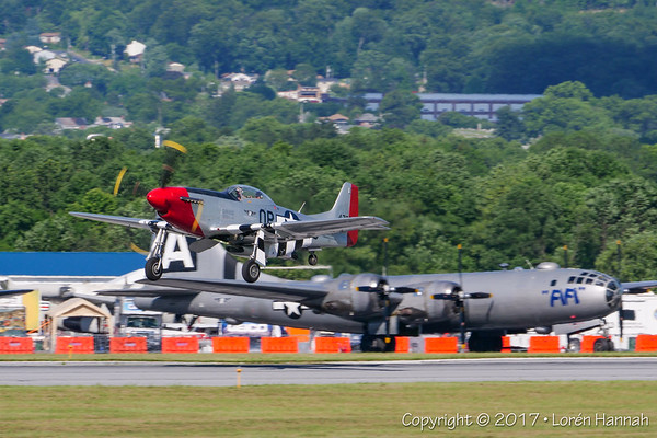 6/1/17 WWII Weekend - Thursday Eve Fly-In - Reading, PA
