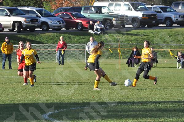 Girls: Central vs. Bucksport: October 23, 2012
