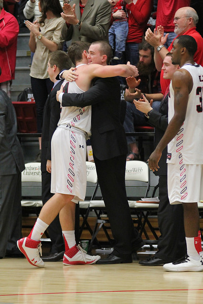 Mens Basketball hosts Presbyterian College for Senior Night Saturday afternoon in the Paul Porter Arena.  Gardner-Webb defeated Presbyterian 76-57 for the bulldogs seventh straight win.