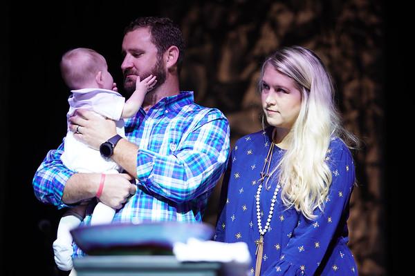 Chambers Baptism and Woodall/Fowler Membership
