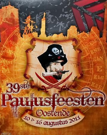 Affichewedstrijd Paulusfeesten 2011