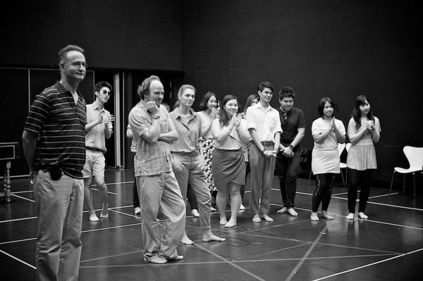 Dido & Aeneas 2012 - Rehearsal