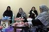 Preparing food for a communal meal for members of the Shia community in Manama, Bahrain