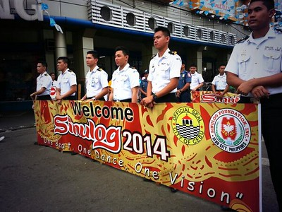Sinulog 2014 launching parade