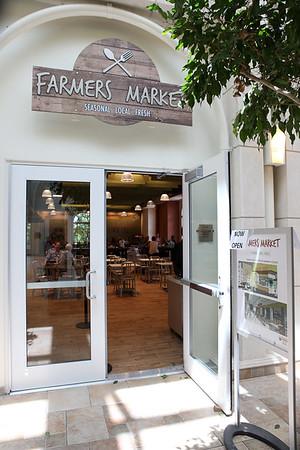 Farmers Market Cafe in UC