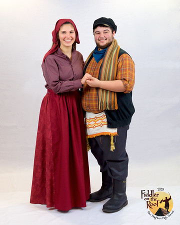 """NBHS """"Fiddler on the Roof"""" Lobby Prints"""