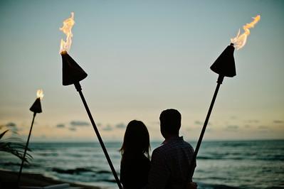 Evan + Amy Four Seasons Hualalai Engagement
