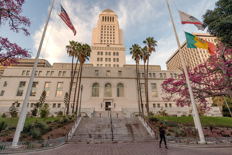 Los Angeles City Hall, south entrance