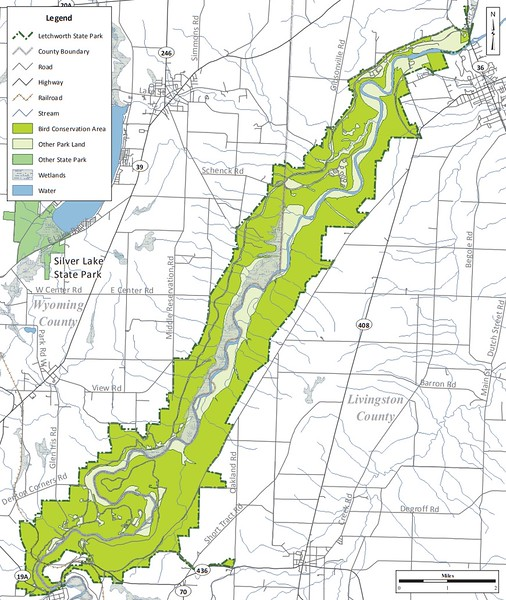 Letchworth State Park (Bird Conservation Area)