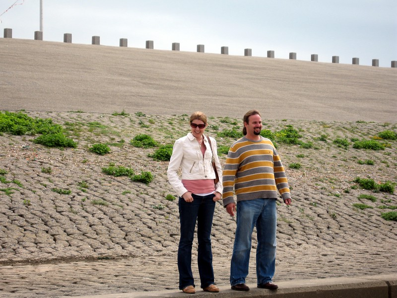 Abbie and Matt at the Rijnland District Water Control Board
