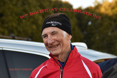 Maurice Tarrant 90th. Birthday Celebrations