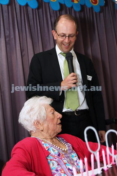 Genia Simon's 100th Birthday