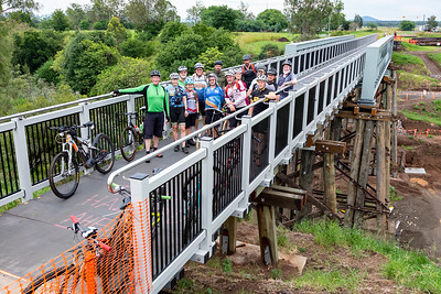 BVRT: Lockyer Creek Bridge 'Soft Opening' bike ride