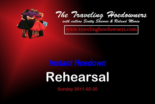 2011 Instant Hoedown Rehearsal & Shoot (25 Photos)