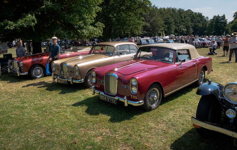 1963 Alvis TE21 and 1967 Alvis TF21 Drophead Coupé