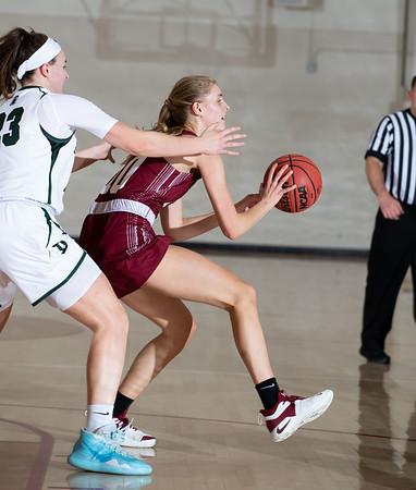 1/15/20: Girls' Varsity Basketball v Deerfield