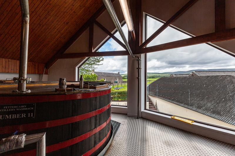 Fermentation Room at Fettercairn