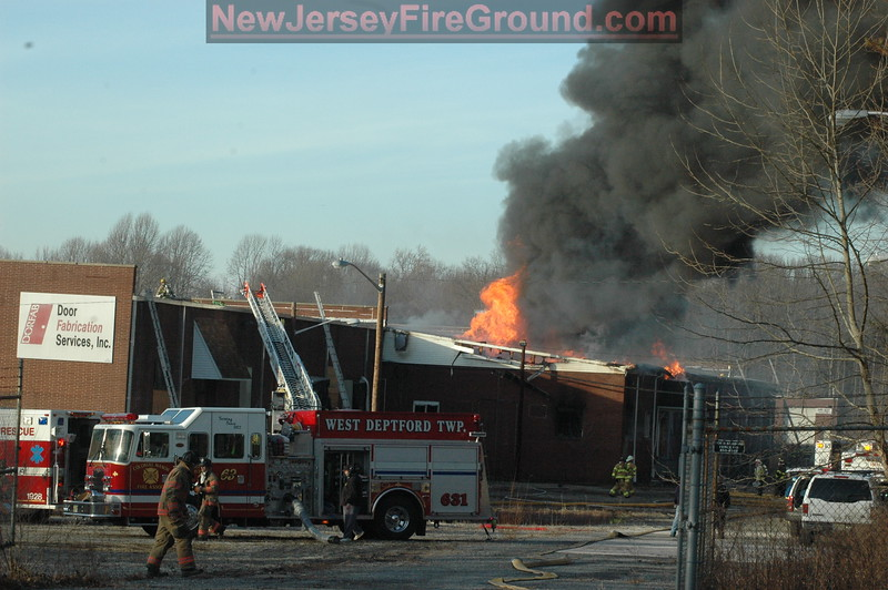 2-4-2010(Gloucester County)WOODBURY HEIGHTS -Chestnut&Academy St.-2nd Alarm Building
