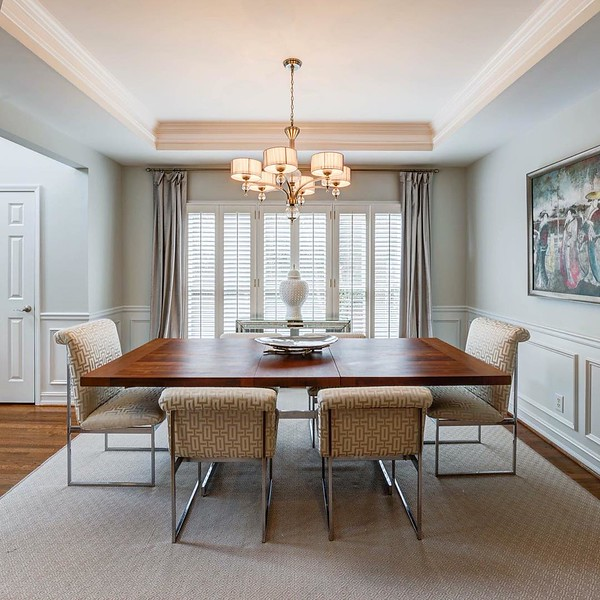 Picture perfect Brookhaven dining room #1139BrookhavenNorthCircle #atlantarealestate #brookhaven #brookhavennorth #brookhavenrealestate