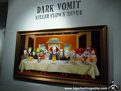 Winston Smith art show with music by The Billy Bones - at Corpo Nason Gallery - Santa Monica, CA - October 3, 2009