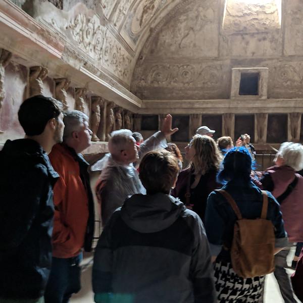 Pompei baths