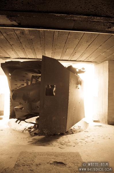 German Gun Emplacement   Photography by Wayne Heim
