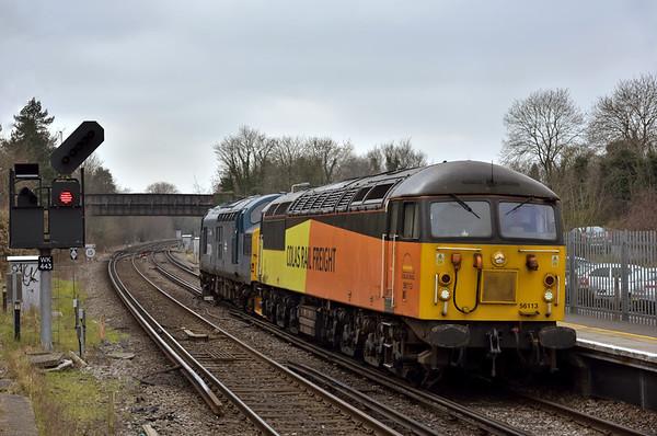 Trains March 2016