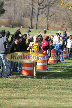 Men's Finish, Gallery 1 - 2012 Summit League XC Championship