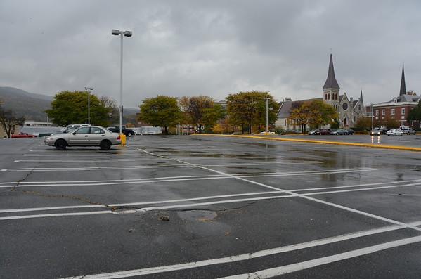 SteepleCity Plaza parking lot