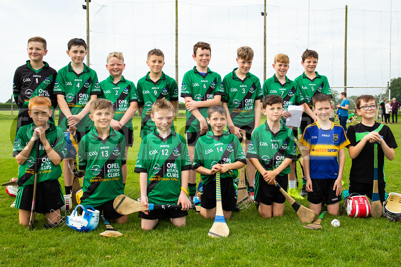 24th August 2019 Tipperary Under 12 C Hurling Championship Final Clerihan vs Kilruane McDonaghs in Holycross