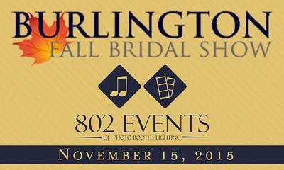11.15.15 Burlington Bridal Show