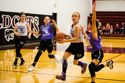 5th & 6th Grade Girls in Destiny League, January 6