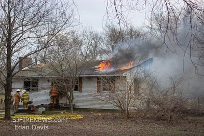 03-20-2014, Dwelling, Pittsgrove Twp. Salem County, 610 Buck Rd.