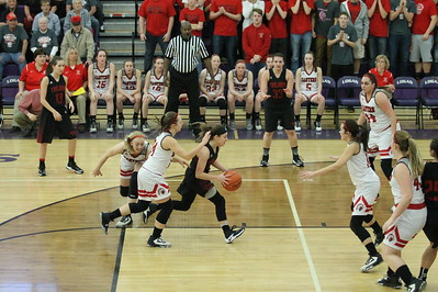 Girls' Basketball vs. Eastern