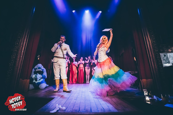 A Hotsy Totsy Burlesque tribute to The Ladies of Disney