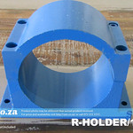 SKU: R-HOLDER/125, Φ125mm Solid Chromoly Steel Spindle Holder for 125mm Diameter Water Cool Spindle