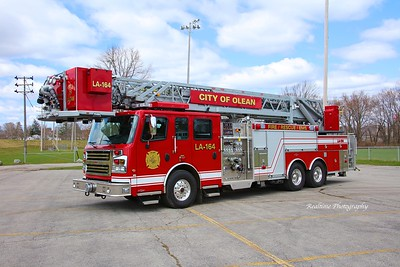 Apparatus Shoot - City of Olean Ladder 164 - 03/02/2020