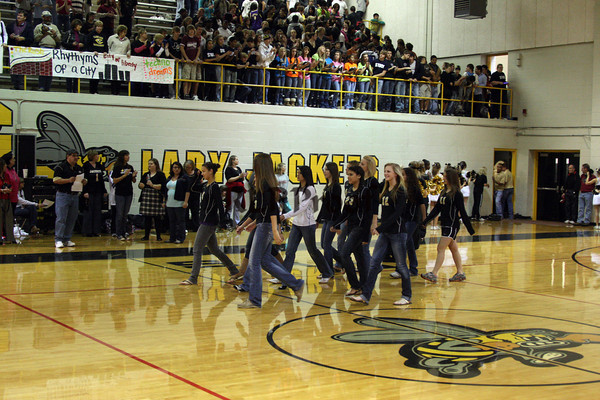 Cleburne Pep Rally Oct 23, 2009