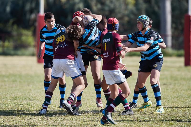 Kreab Alcobendas Rugby Granate vs I.Industriales Azul: 31-15
