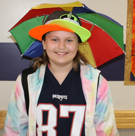 20180420  Spirit Week: Crazy Outfit and Hat Day