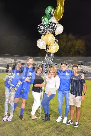 Boys Varsity Soccer Senior Night 01*24*20