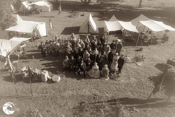 Civil War Encampment at Robert Fulton Birthplace  9.5.21